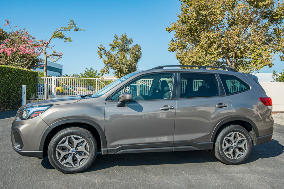 Subaru offers the Forester in five models, including base, Premium, Sport, Limited, and Touring.