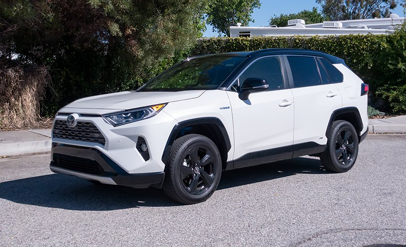 Toyota offers its RAV4 Hybrid in three trims, including LE, XLE, and XSE.