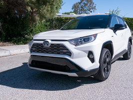 The base RAV4 Hybrid retails for $27,850, which is about $2,200 more than the comparable...