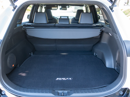 Behind the back seats, the SUV offers 37.6 cubic feet of cargo space.