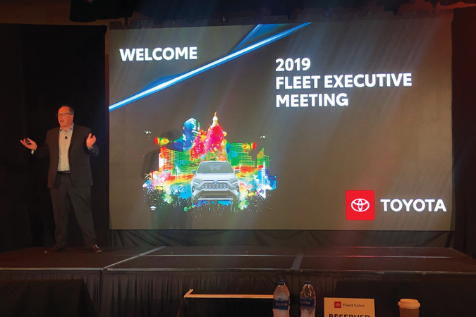 Don Fordiani assumed leadership of Toyota's fleet operations and sales in January 2019....