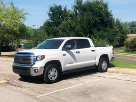 The Tundra lineup is available in two styles: the four-door Double Cab and the super-sized...