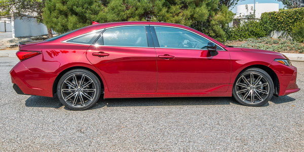 The Avalon is now lower slung and sportier than in past generations with a lower roofline.