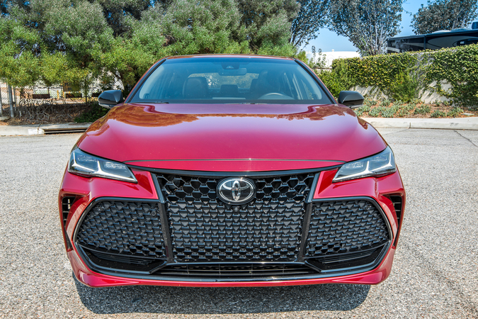 The Avalon added a grille that was similar to the Camry when it entered its fourth generation.