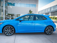 The budget-friendly hatchback retails for at least $20,910 for the SE with a six-speed manual...