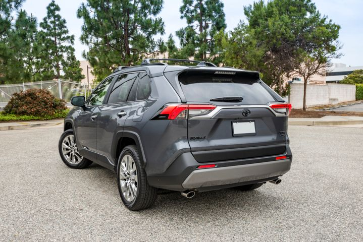 The RAV4 rides on the Toyota New Global Architecture.