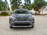 The RAV4's exterior is now more squared off and truck-like.
