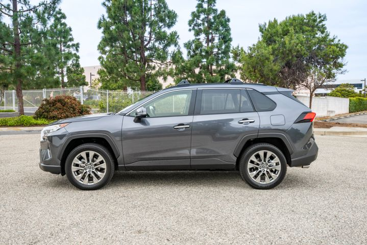 The 2019 RAV4 adds about 1.2 inches in length.