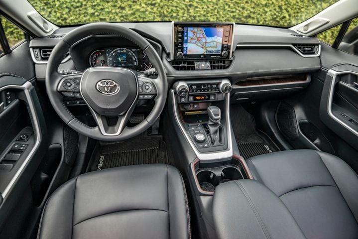 The interior has a more premium feel.