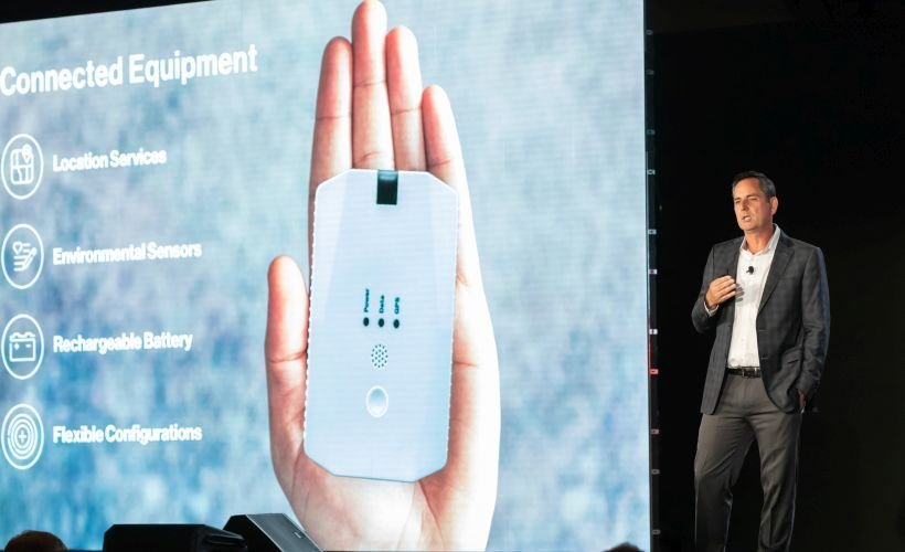 Mark Wallin, Verizon Connect's vice president of product management, unveiled several new...