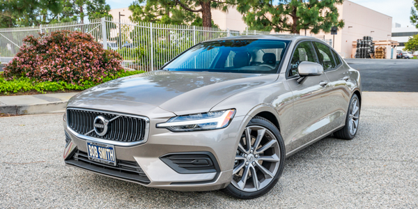 Volvo is offering fleet incentives on seven 2020 models, including the S60 (shown).