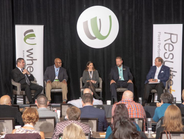 Shonn Glenn, senior director account management for Wheels Inc., moderated a discussion on...