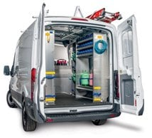2015 Ford Transit Cargo Van Shelving Systems