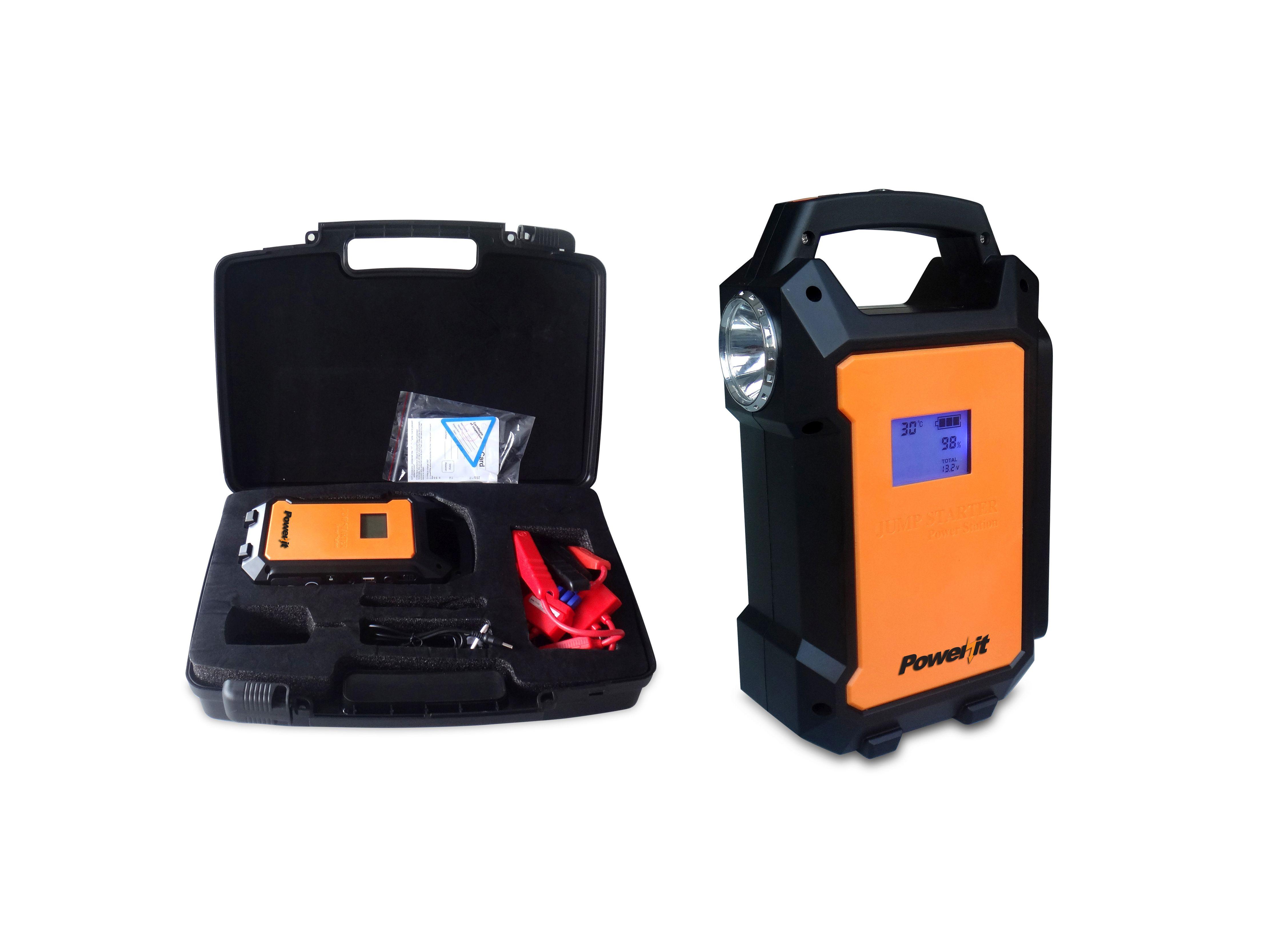 Power It Portable Jump Starter Kit