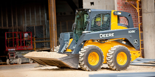 E-Series Skid Steer and Compact Track Loaders