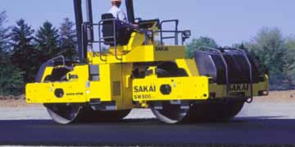 SAKAI SW800 Double Drum Roller
