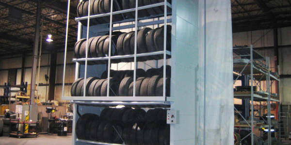 Commercial Tire Vertical Carousel