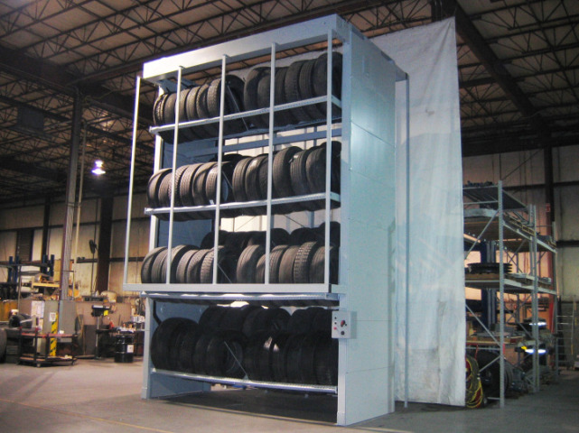 Commercial Tire Vertical Carousel Operations