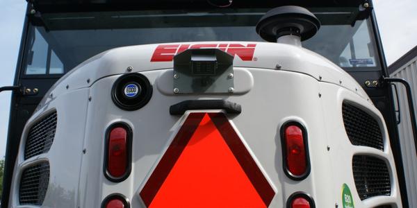 Elgin rear view camera