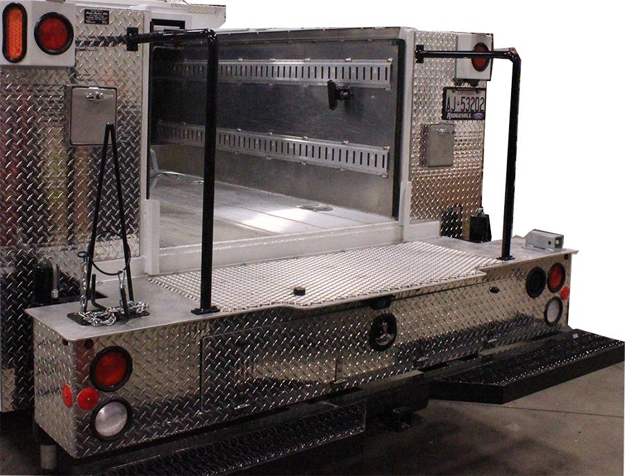 Aluminum Mechanics Bumper