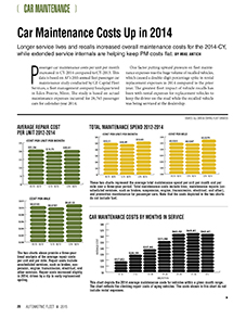 2014 Maintenance Statistics