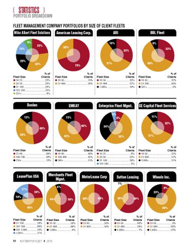 2013 Fleet Size in Lessor Portfolios