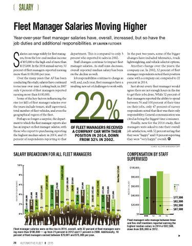 2014 Salary Statistics
