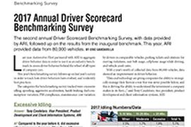 2016 Driver Scorecard