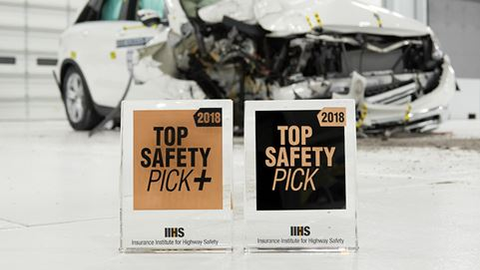 15 Vehicles Earn Highest IIHS Award