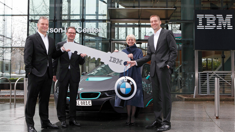 BMW, IBM Team on Driver Support Systems