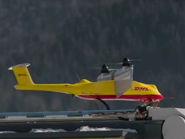 DHL's Parcelcopter Drone