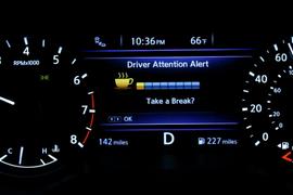 Nissan Driver Attention Alert System