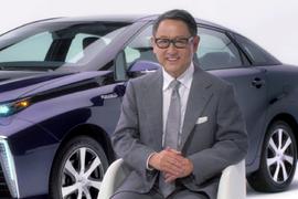 "Toyota Introduces ""Mirai"" Fuel Cell Sedan"