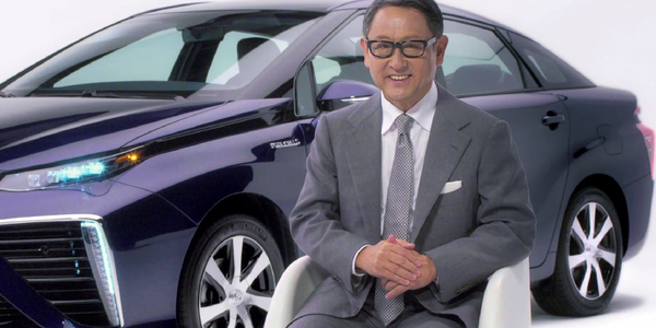 "Toyota Introduces ""Mirai"" Fuel Cell Sedan"