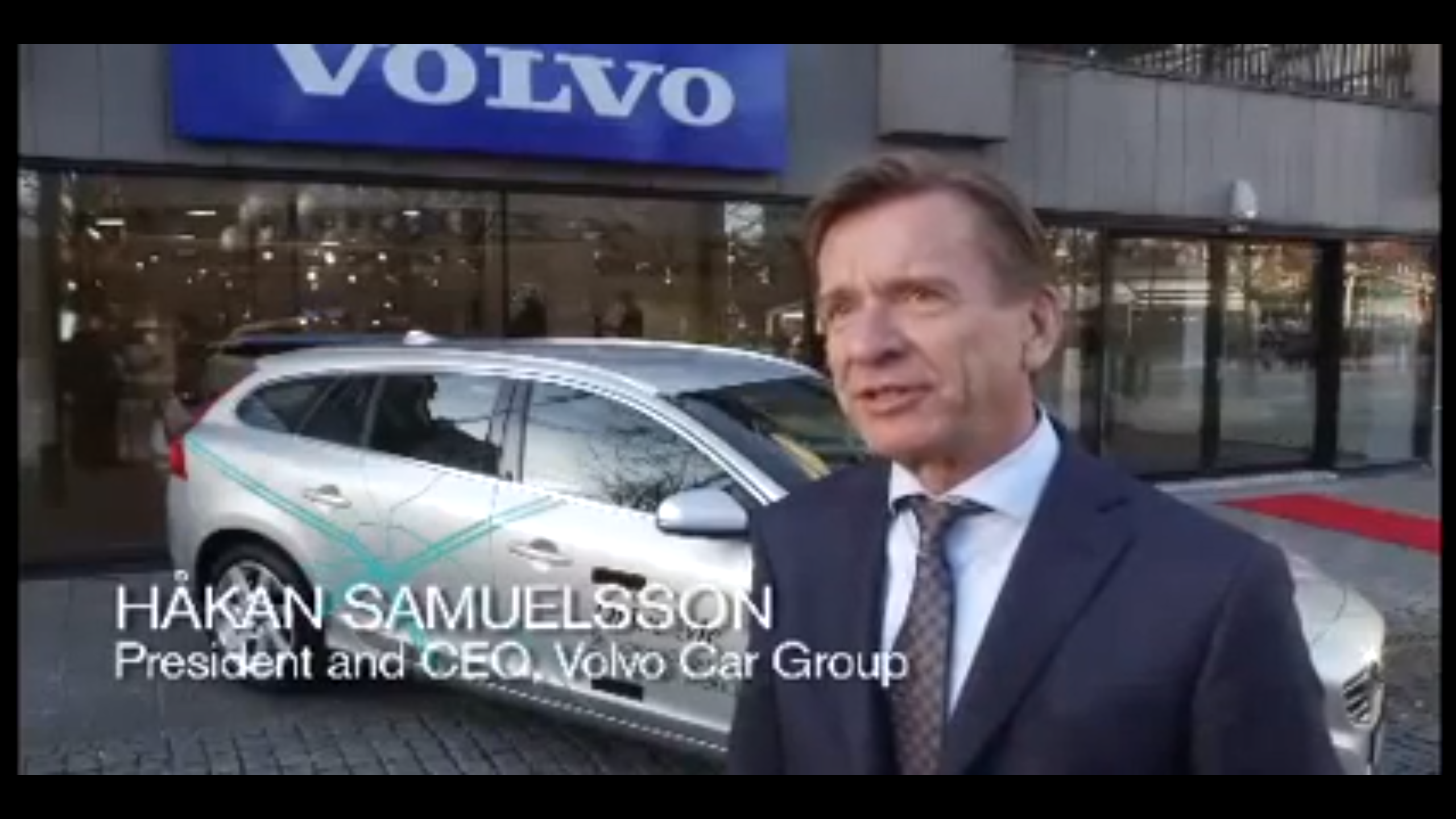 Volvo's 'Drive Me' Project Progressing Quickly
