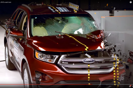 Ford Edge Qualifies as Top Safety Pick