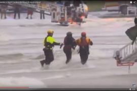 Flood Rescues in Columbia, S.C.