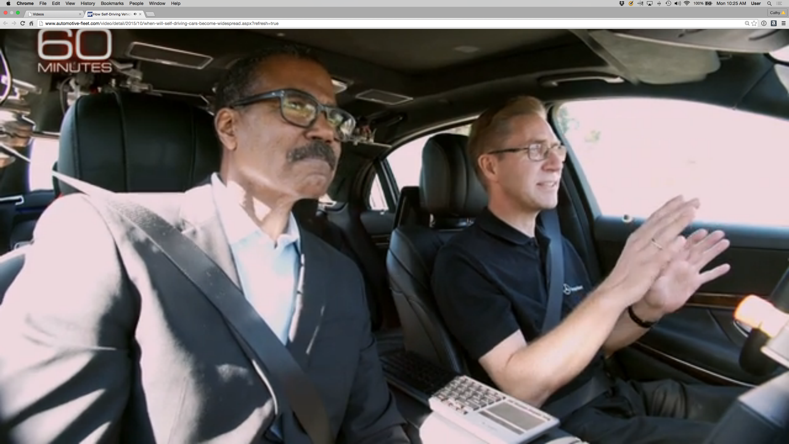 60 Minutes' Examines Self-Driving Cars - Safety - Automotive