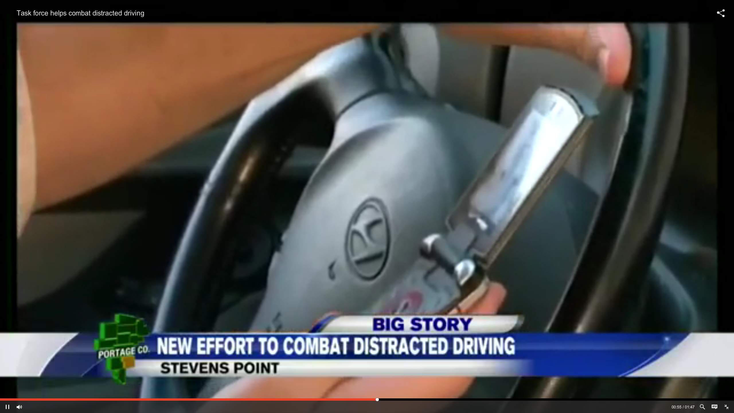Wis. Targets Distracted Driving