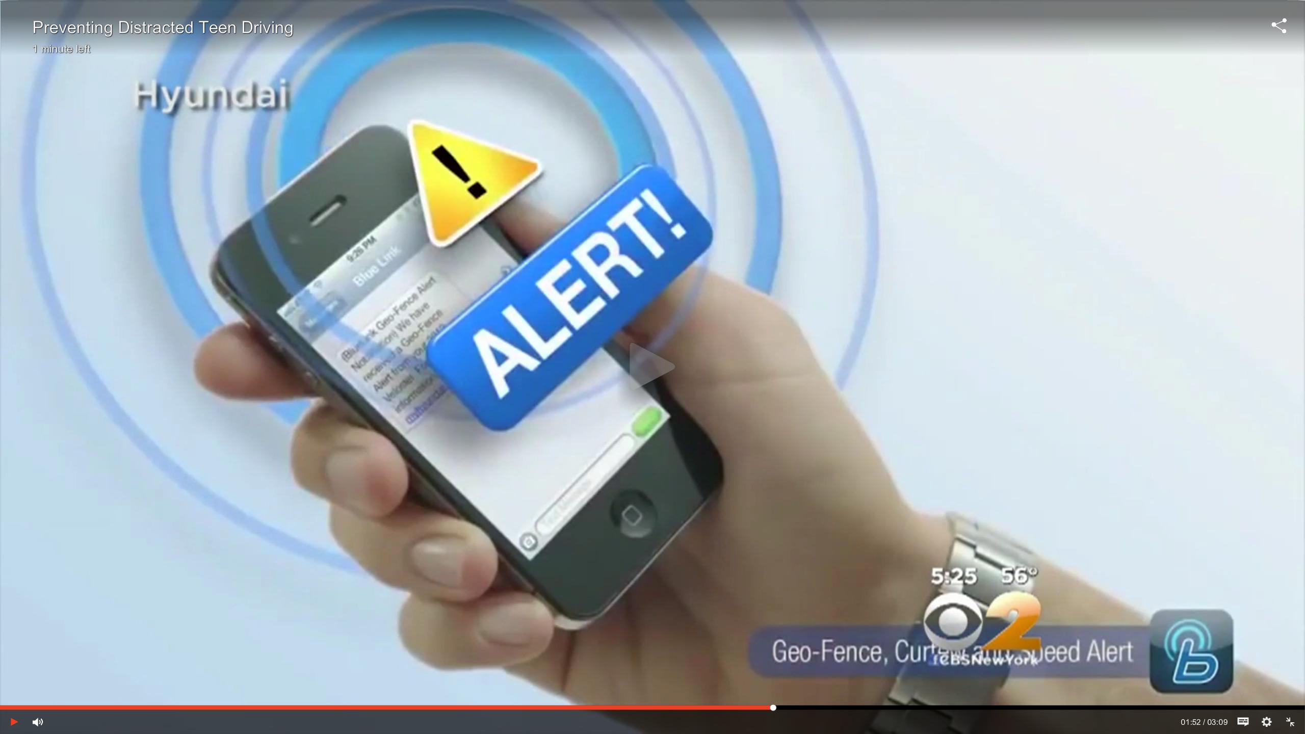 New Tech Curbs Unsafe Teen Driving