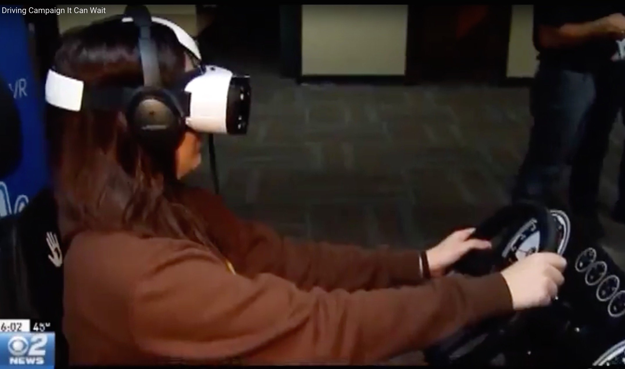 Distracted Driving in Virtual Reality