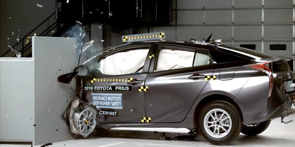 Prius Aces Crash Tests