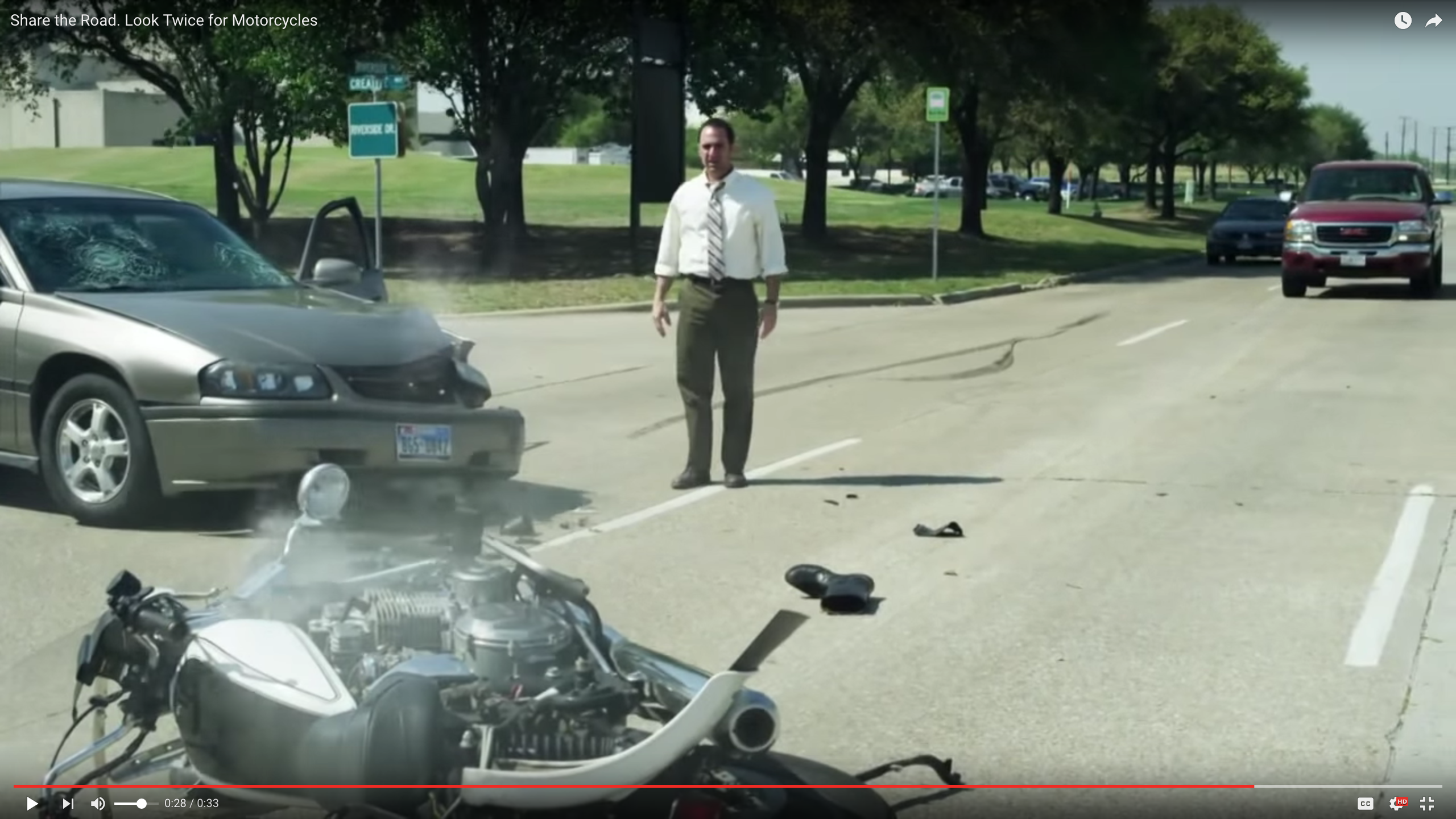 Look Twice for Motorcycles