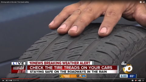 Check Your Vehicle's Tire Tread