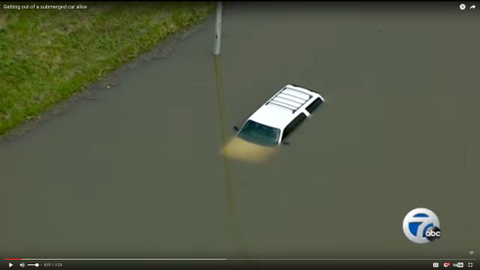 Escaping a Sinking Vehicle