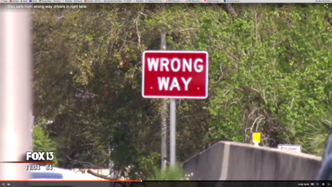 Protection from Wrong-Way Drivers