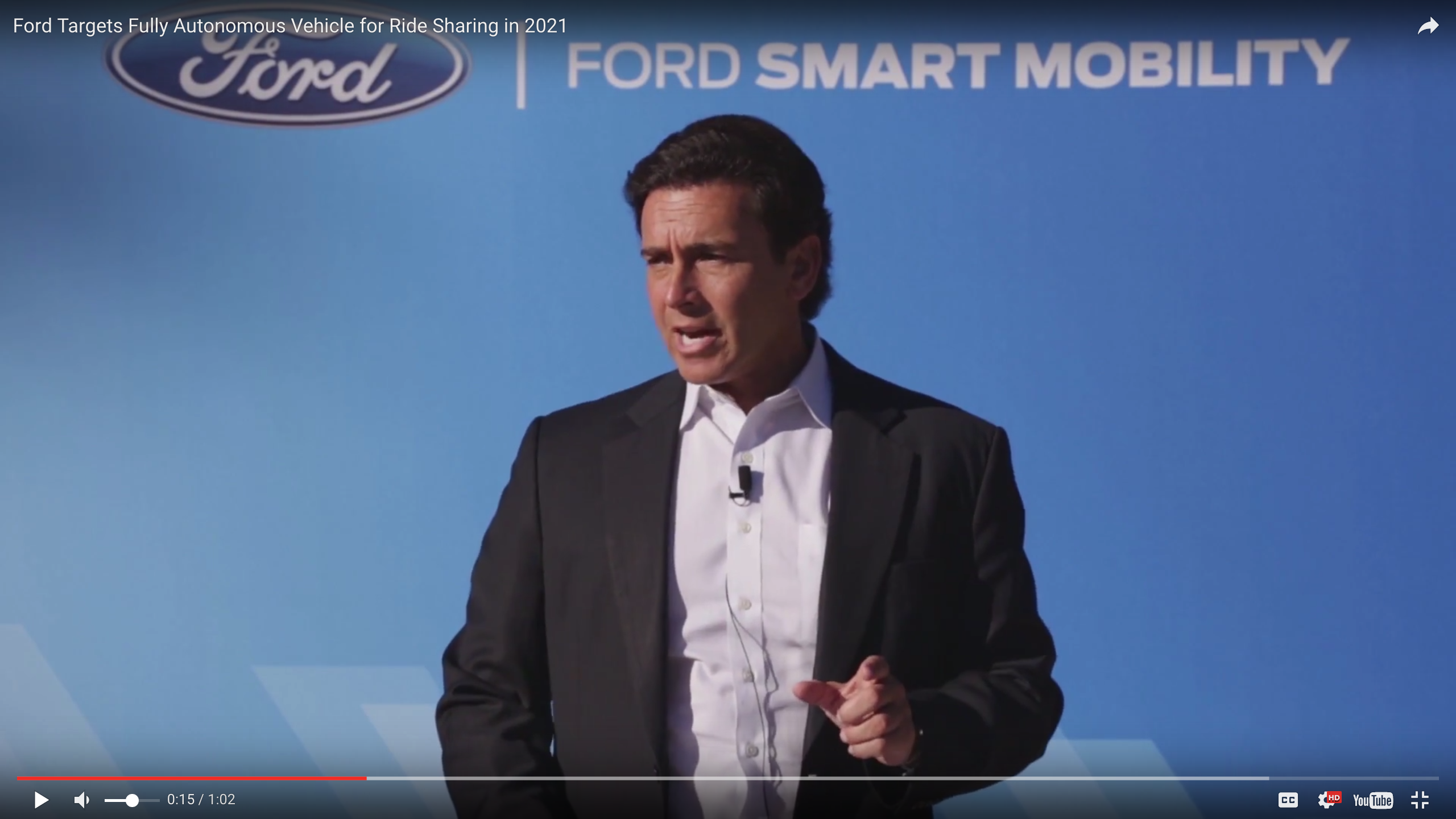 Ford Driverless Cars Coming in 2021
