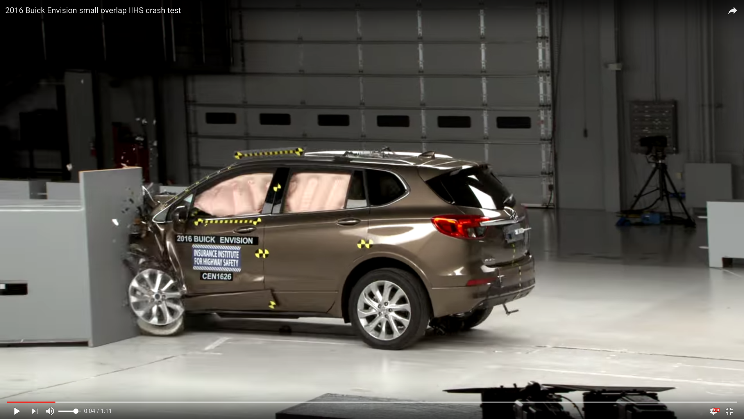 Buick Envision Excels in Crash Tests