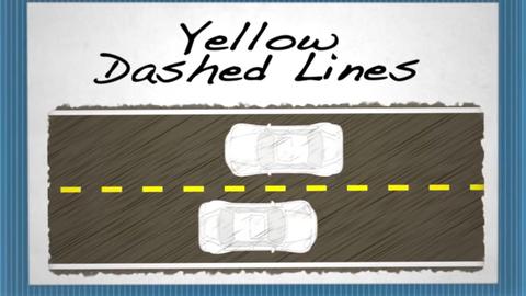 What Lane Markings Mean