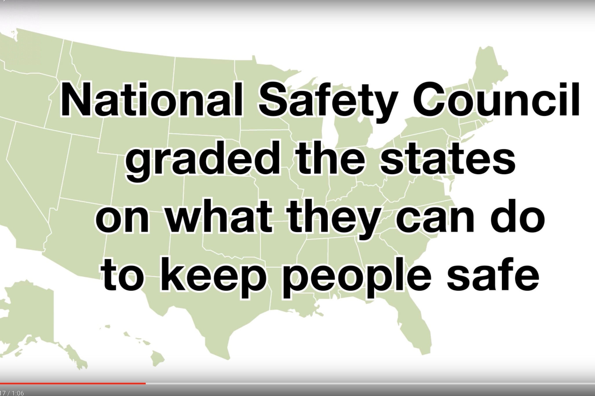Safety Council's State of Safety Report
